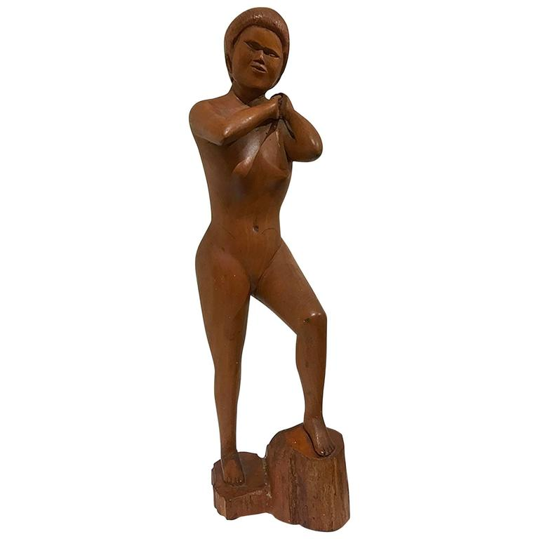 Carved Nude Figure