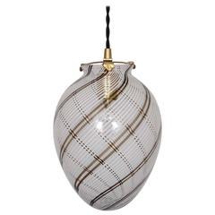 Murano Glass Pendant by Venini