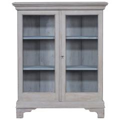 antique english painted bookcase display cabinet circa 1875 antique english country armoire circa 1830s