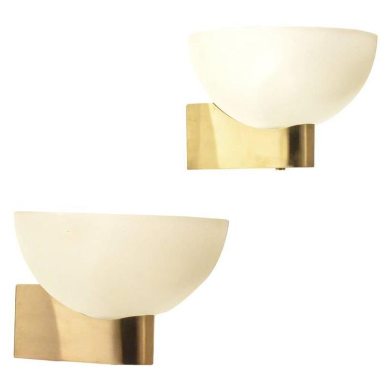 Extra Large Wall Lights : Two Extra Large French Art Deco by Jean Perzel, Wall Sconces Lamps at 1stdibs