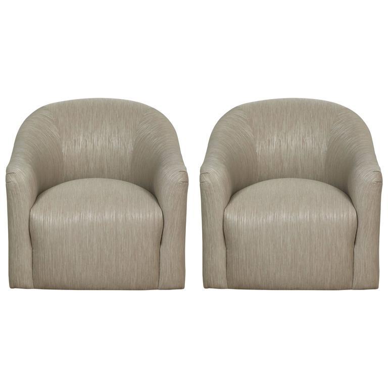 Milo Baughman Club Chairs 1