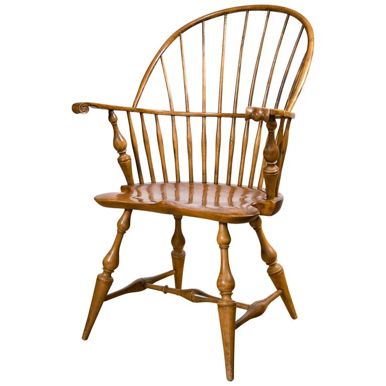 windsor chair with arms knuckle arm windsor chair at 1stdibs 22157 | 5859283 l