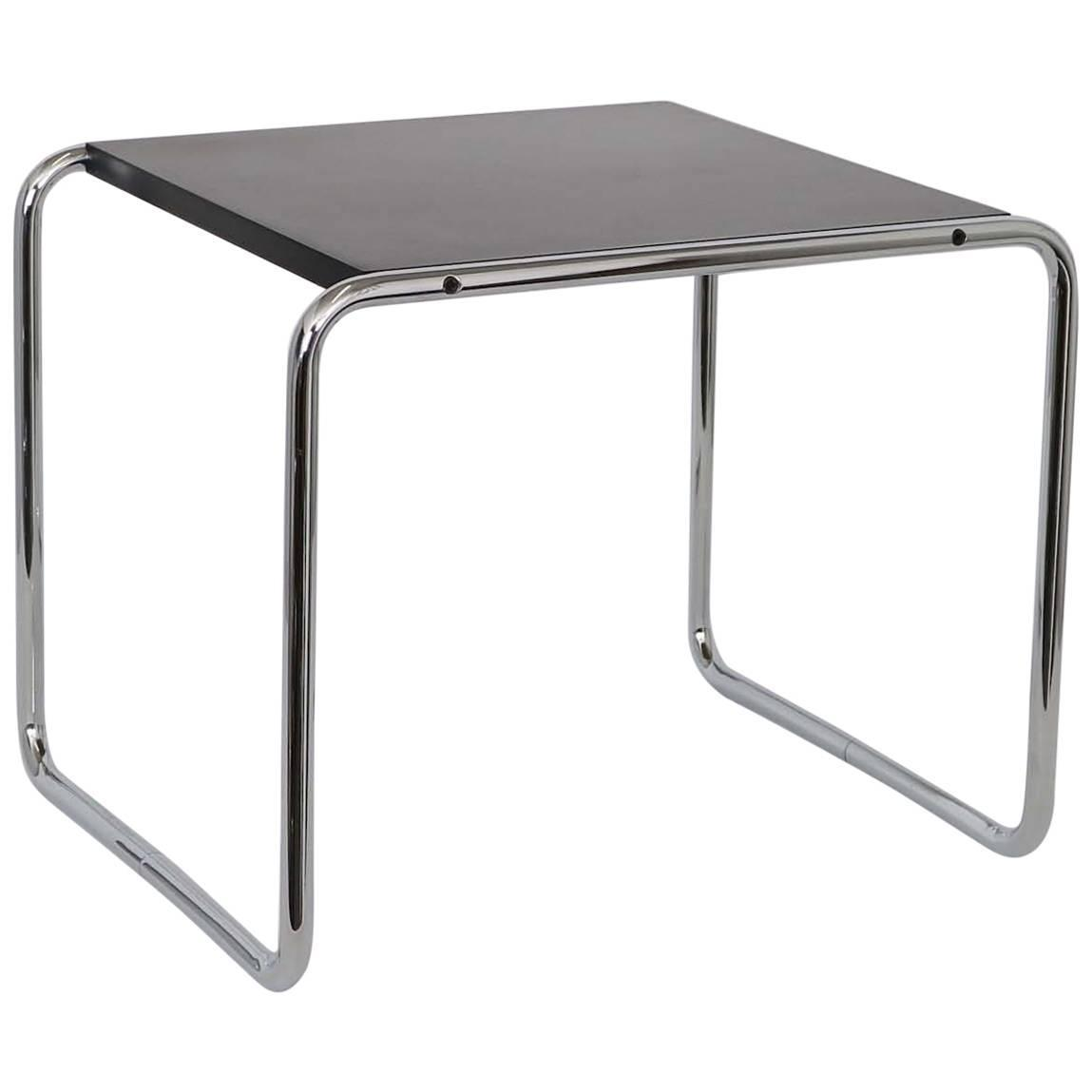 Marvelous Signed Side Table By Marcel Breuer For Knoll Studio For Sale At 1stdibs