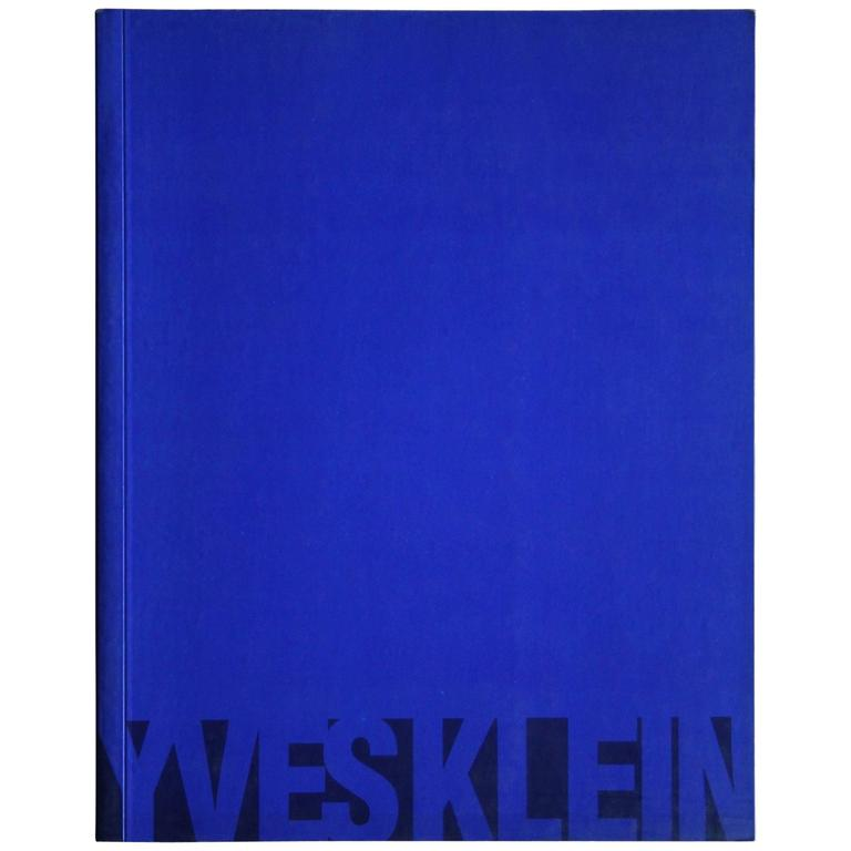 Yves Klein Book For Sale At 1stdibs