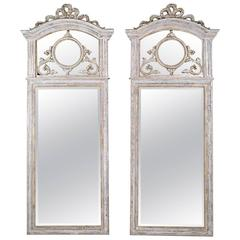 Pair of French Louis XVI-Style Mirrors
