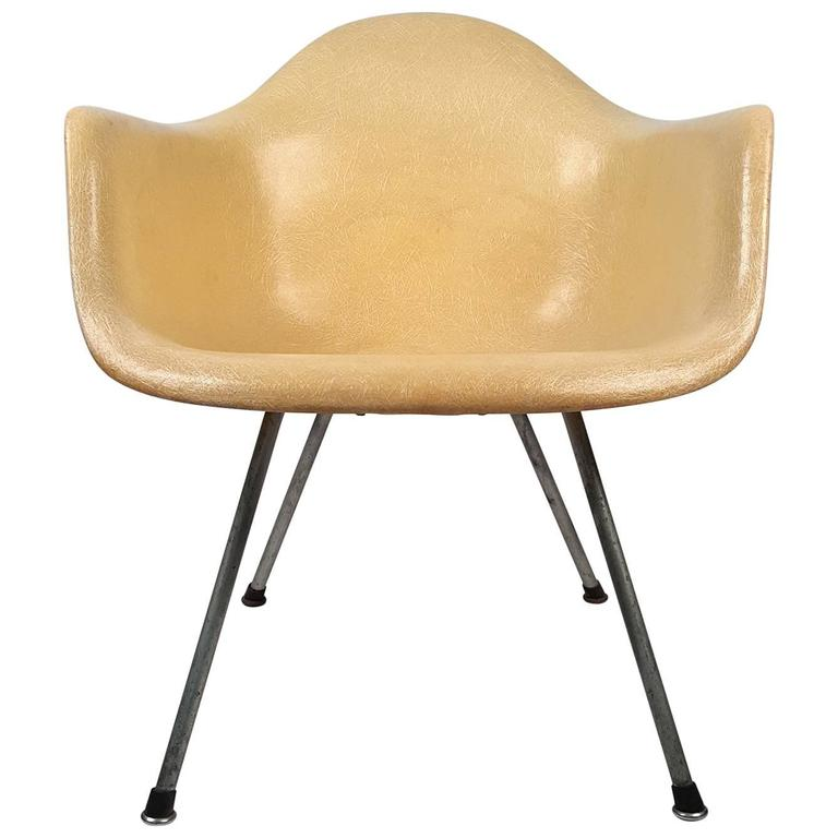 Eames LAX Armshell Lounge Chair For Sale