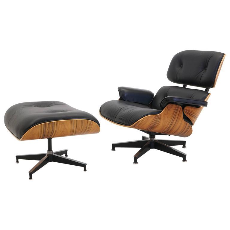 Sensational Like New Eames Lounge Chair And Ottoman Santo Palisander Creativecarmelina Interior Chair Design Creativecarmelinacom