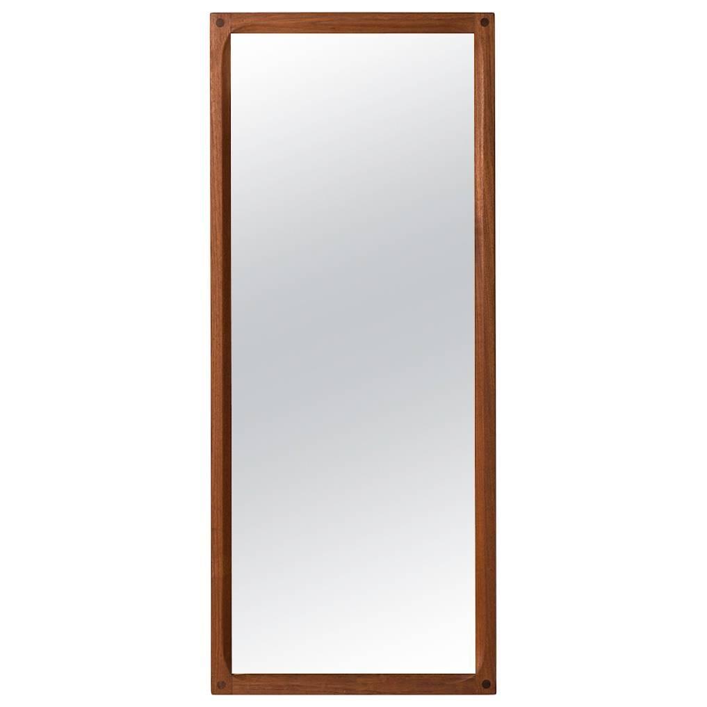 Aksel Kjersgaard Mirror in Teak by Odder in Denmark