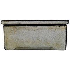 Kähler, Denmark, Glazed Lidded Box/Jewelry Box, 1930s by Svend Hammershøi