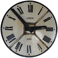Iron Clock Face, France, circa 1940