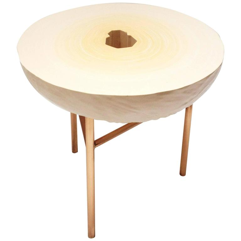 Contemporary Fuzz Slice Side Table Large, Study O Portable, 2016  For Sale