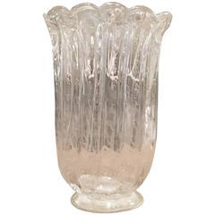 Murano Glass Vase by Sergio Costantini, Venice, Italy