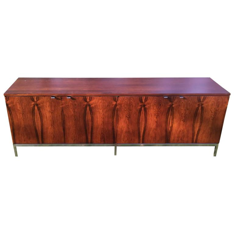 Stunning Mid-Century Modern Rosewood Florence Knoll Credenza