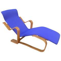Marcel Breuer for Isokon Modernist Bent Plywood Chaise Longue