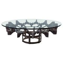 Steel Excavator Wheel Table