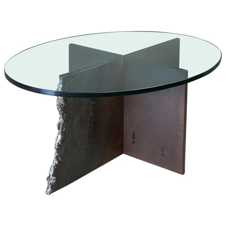 Corten Steel Max Coffee Table