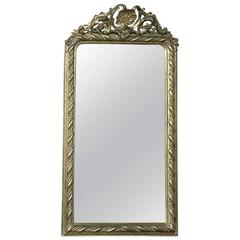 19th Century Gilded Regence Style Mirror with Shell & Foliate Motifs