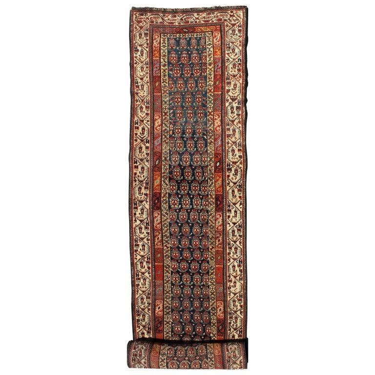 Long Antique Persian Runner For Sale