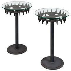 Tractor Wheel Bistro Table