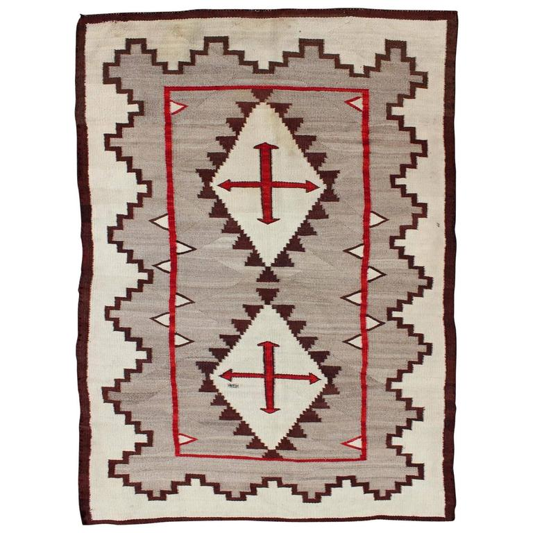 Native american navajo for sale at 1stdibs for Navajo rug coloring page