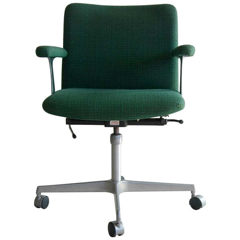Ultra-Cool Swivel Office Chair by Cado Design Attributed to Finn Juhl