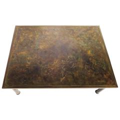 Zodiac Bronze Coffee Table by Laverne