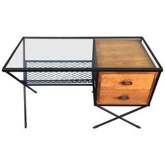 California Designer Muriel Coleman, Iron Desk