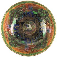 English Wedgwood Porcelain Fairyland Lustre Punch Bowl
