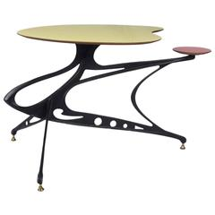 Sculptural 1950s Italian Low Table