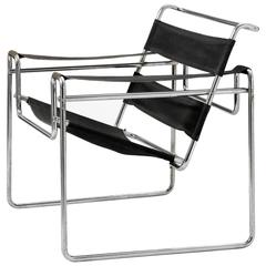 Very Early Wassily Chair, Model B3 by Marcel Breuer