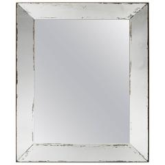 Rectangular Mirror Attributed to Jacques Adnet, circa 1935