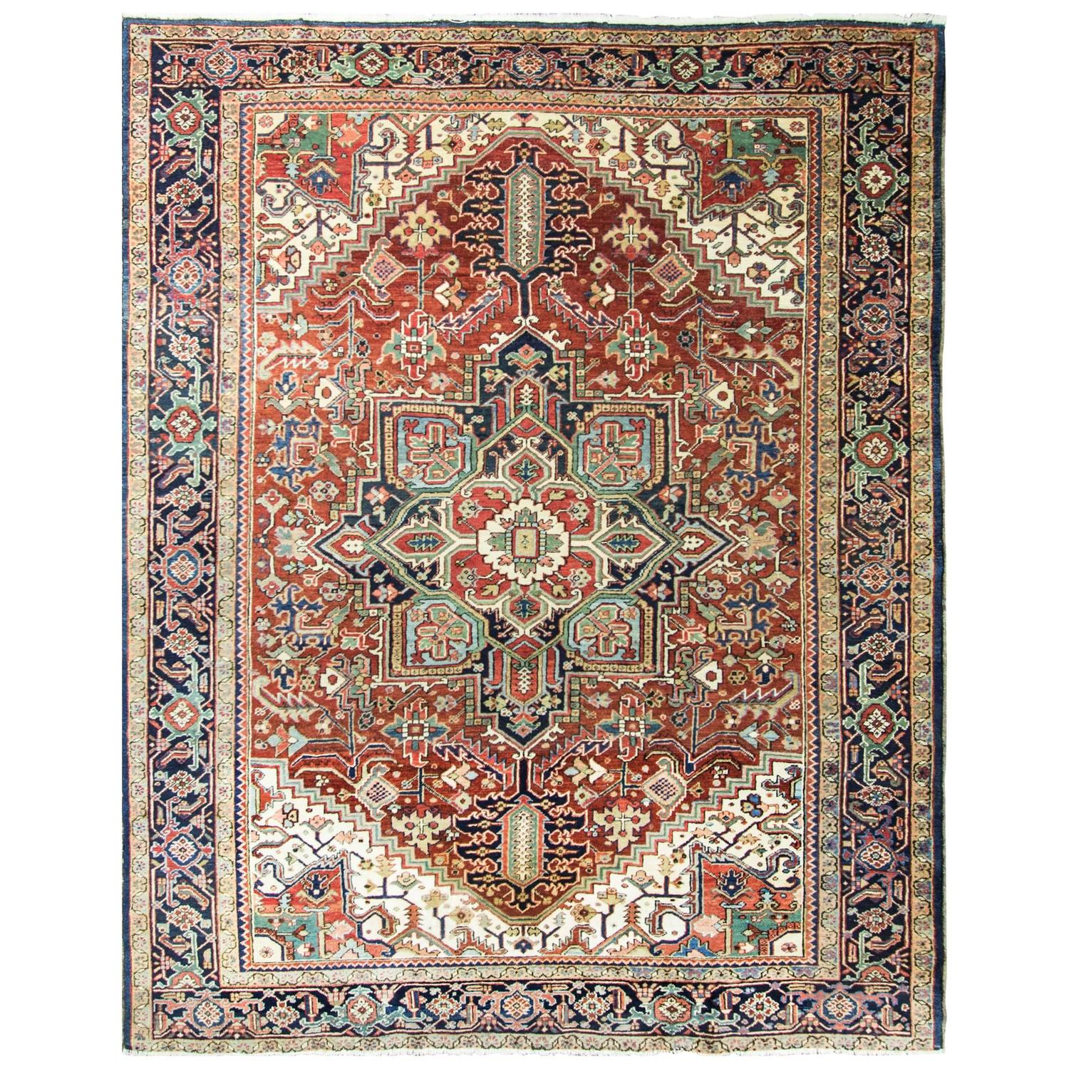 Beautiful Persian Heriz For Sale At 1stdibs