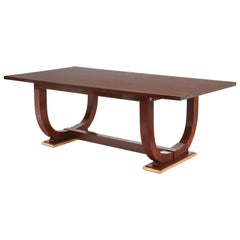 Dining Room Table by Jules Leleu, 1936
