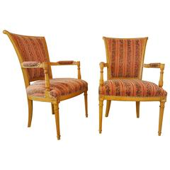 Louis XVI Style Chairs by Lx Rossi