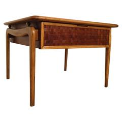 Beautiful Mid-Century Modern Square Side Table by Lane