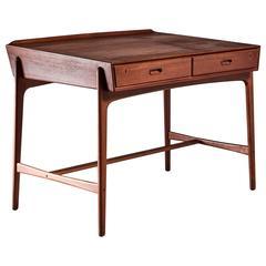 Svend Aage Madsen Freestanding Desk for Sigurd Hansen, Denmark, 1950s
