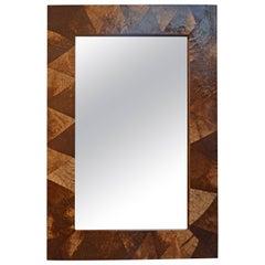 Andrianna Shamaris Coconut Shell Mirror