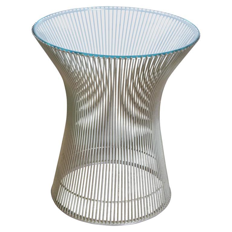 verner panton side table at 1stdibs. Black Bedroom Furniture Sets. Home Design Ideas