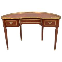 Unusual Demilune Writing Table