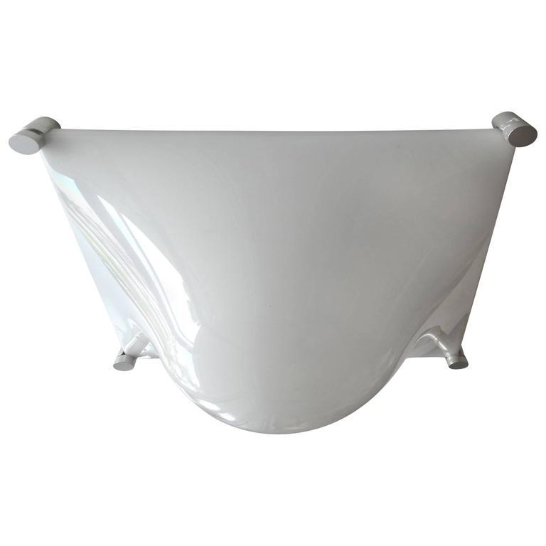 1960s martinelli luce bolla flush mount lamp for sale at 1stdibs. Black Bedroom Furniture Sets. Home Design Ideas