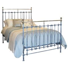 Blue Bed with Nickel Plating, MK88