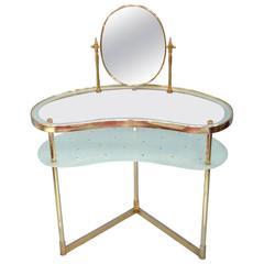 Italian Glass Dressing Table