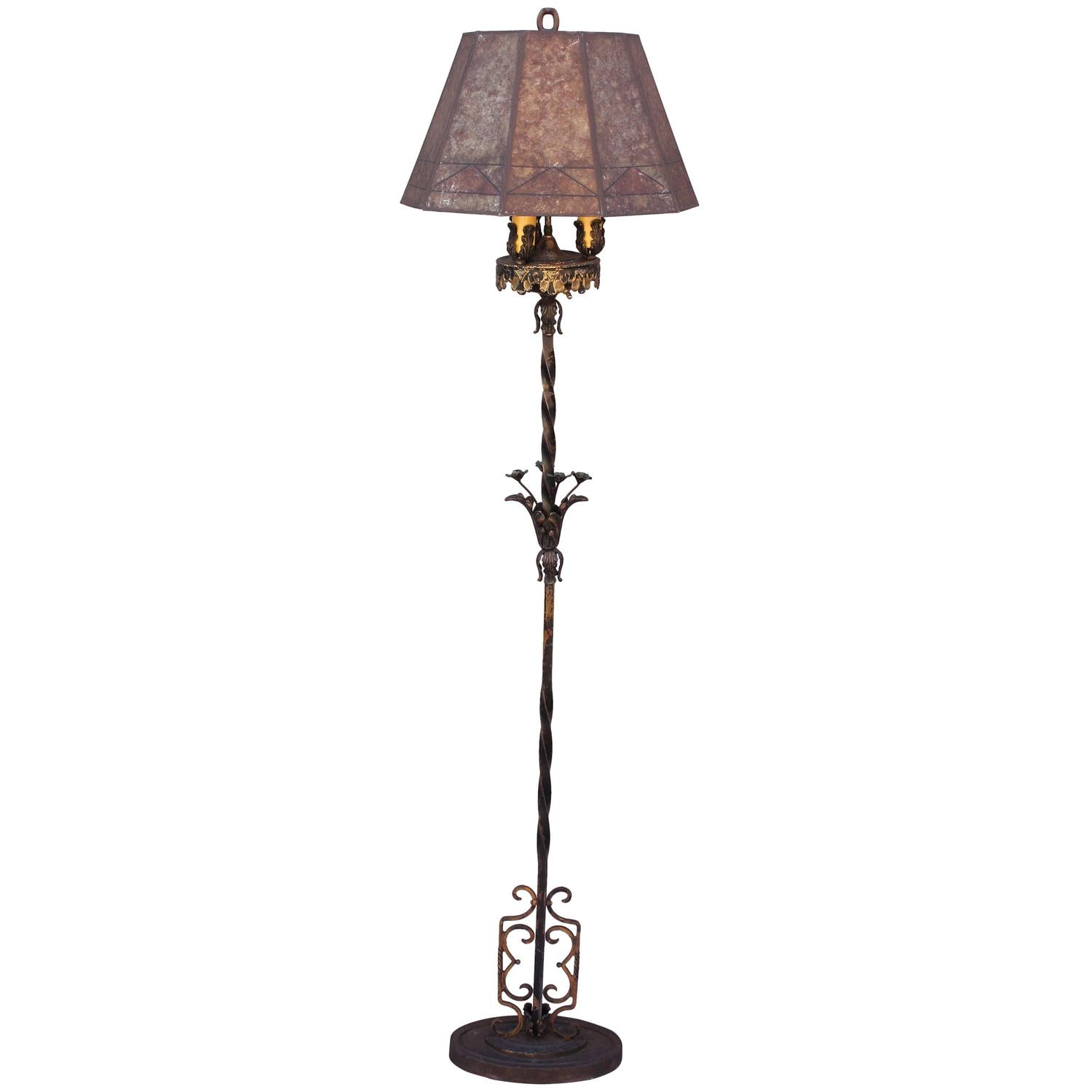 1920s spanish revival floor lamp for sale at 1stdibs for 1920 floor lamp