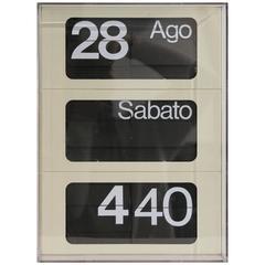 Dator 6041 Clock, by Solari Udine
