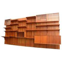 Royal Teak Wall Unit by Cado Poul Cadovius