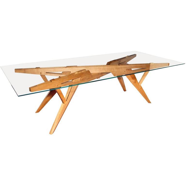 Architectural Dining Table by L'Opere e i Giorni