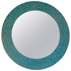 Turquoise Bone Mirror