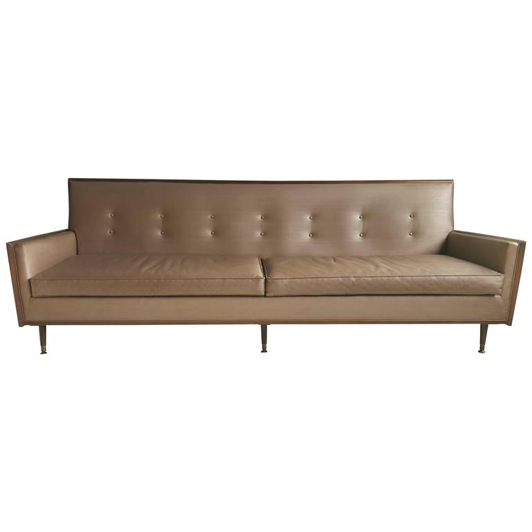 Classic mid century modern sofa after paul mccobb for sale for Sofa modern classic