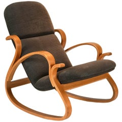 Hand-crafted Bentwood Rocking Chair by Peter Danko