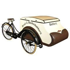 Spectacular Antique Cargo Tricycle
